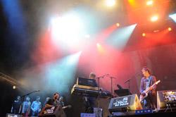 Yann Tiersen à La Route du Rock 2010 à Saint Malo
